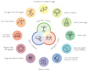 The Permaculture Principles Wheel