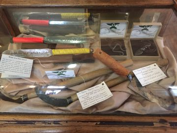 Tools at The Fernie Forge Shop